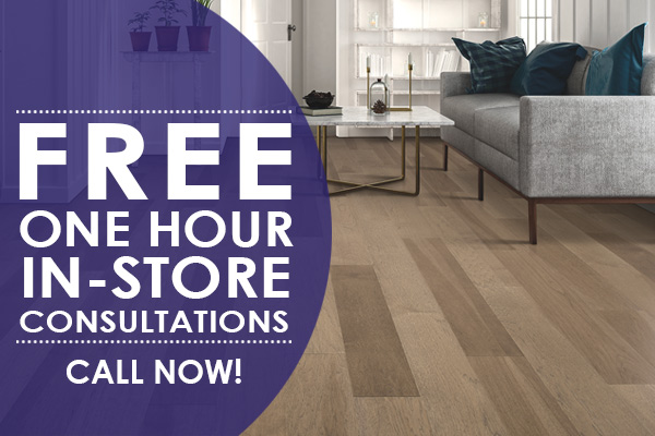 Free One Hour In-store Consultations